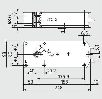bf24弹簧复位电动执行器接线图