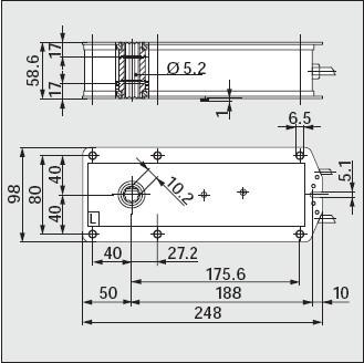 bfg24-st弹簧复位执行器接线图