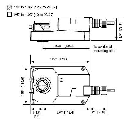 gmx24-lon电动执行器接线图
