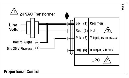gmx24-pc电动执行器接线图