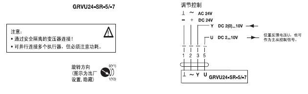 位蝶阀执行器接线图