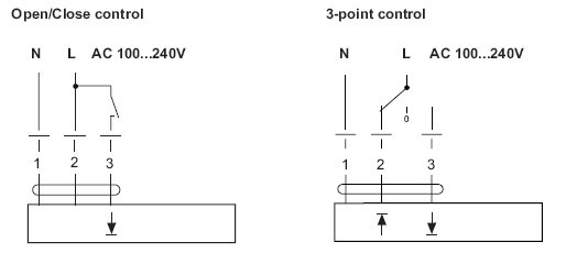 lhs230直线执行器接线图