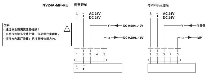 节执行器接线图