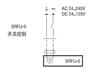 SRFU-5弹簧复位阀门执行器接线图